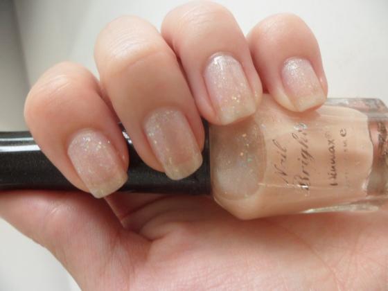 Nude Glitter Daiso Winmax