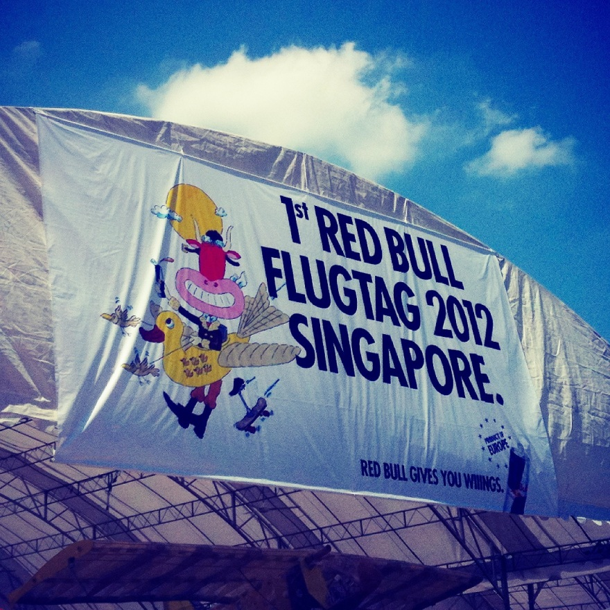 1st Red Bull FlugTag 2012 Singapore